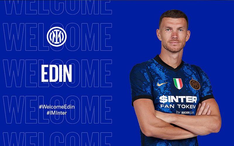 Transfer: Inter Milan sign Dzeko, Dumfries in double swoop