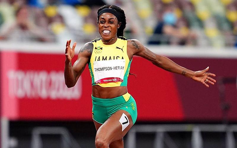 Olympics: Jamaica's Thompson-Herah claims third gold medal