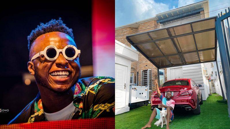 PHOTOS: DJ Kaywise shows off latest house