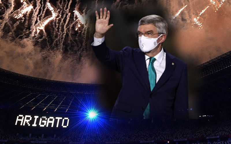 IOC president declares closure of Tokyo 2020 Olympics