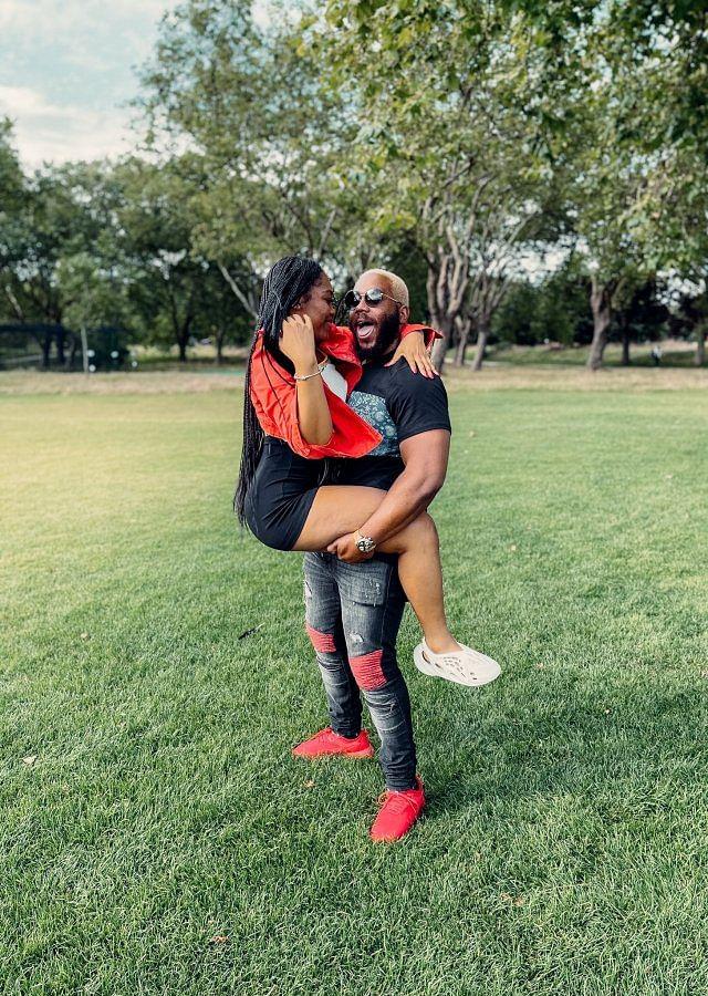 PHOTOS: Kiddwaya throws shade as he shares photos with fellow BBNaija star Lilo