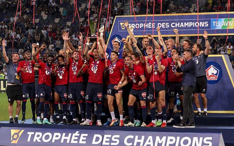 French Super Cup: Lille beat Paris-Saint Germain 1-0