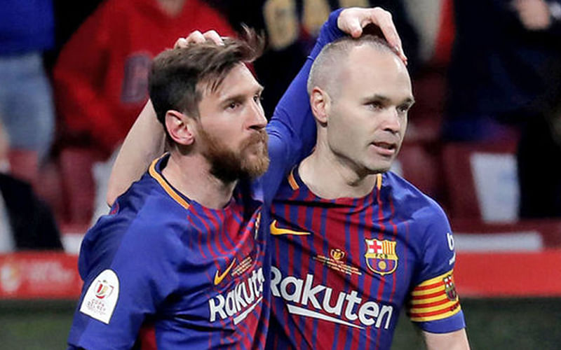 Seeing Messi in another jersey would be difficult – Iniesta