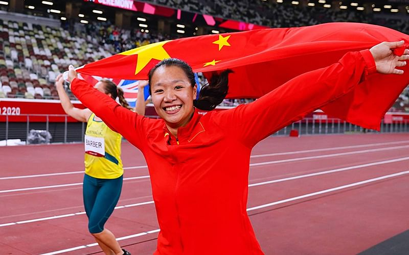 Olympics: China's Shiying claims gold in women's javelin
