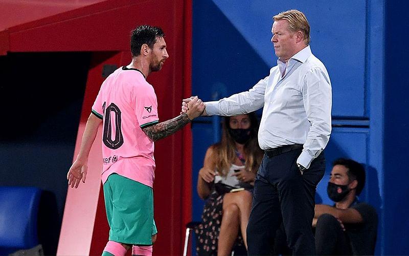 Post-Messi Era: Barcelona can't live in past as season starts, says Koeman