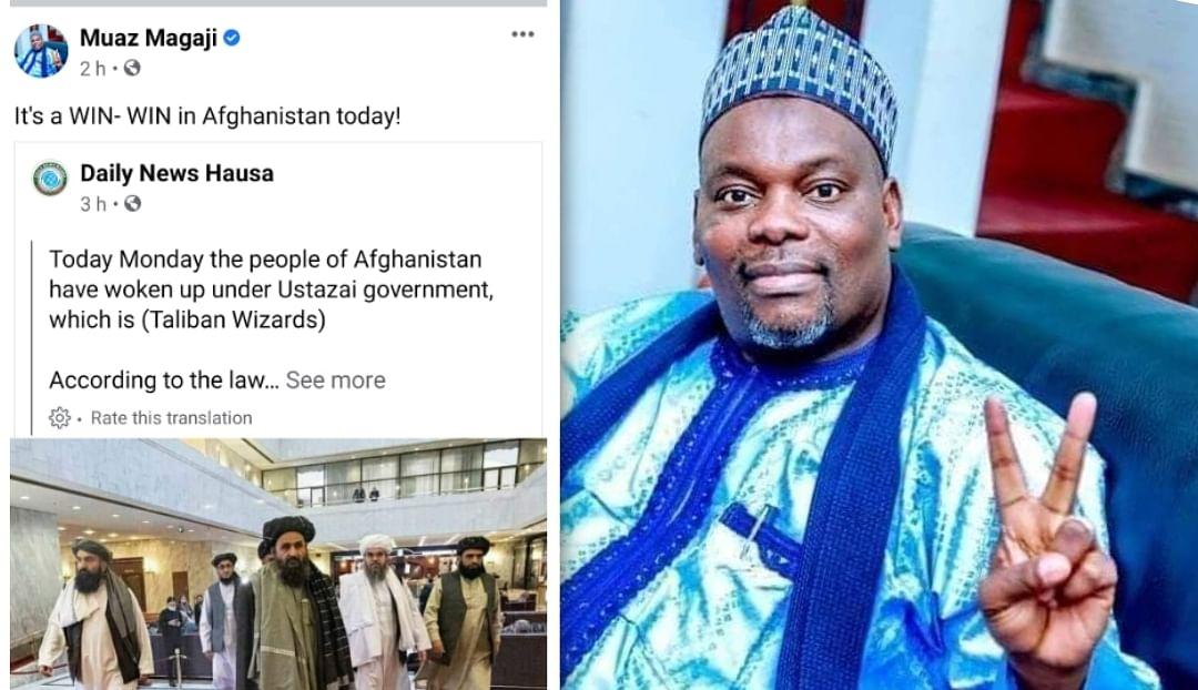 NNPC director Magaji deletes Facebook post hours after celebrating Taliban victory