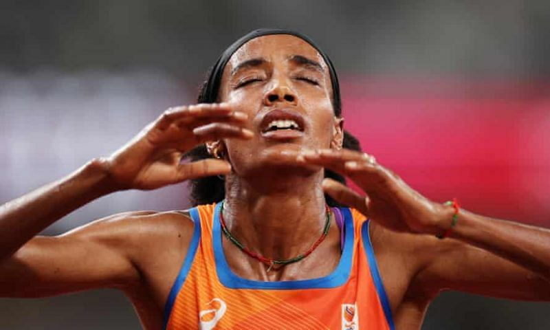 Netherlands' Hassan clinches women's Olympics 5000m gold