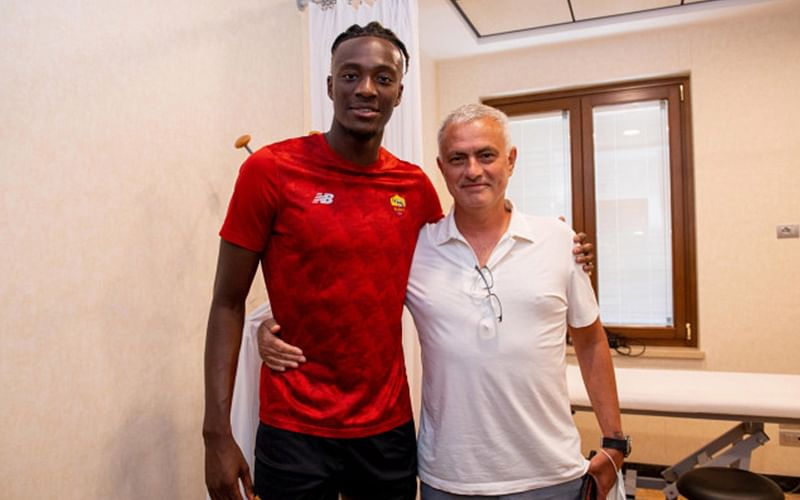 Roma pulled 'real coup' by signing Tammy Abraham, says Mourinho