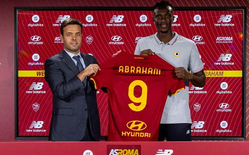 TRANSFER: Chelsea's Tammy Abraham officially joins Roma on five-year deal