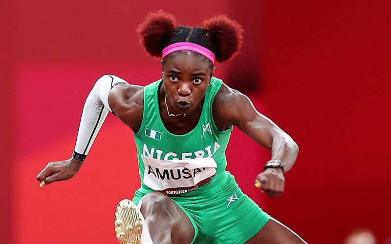 Diamond League: Nigeria's Amusan makes history, wins 100m hurdles