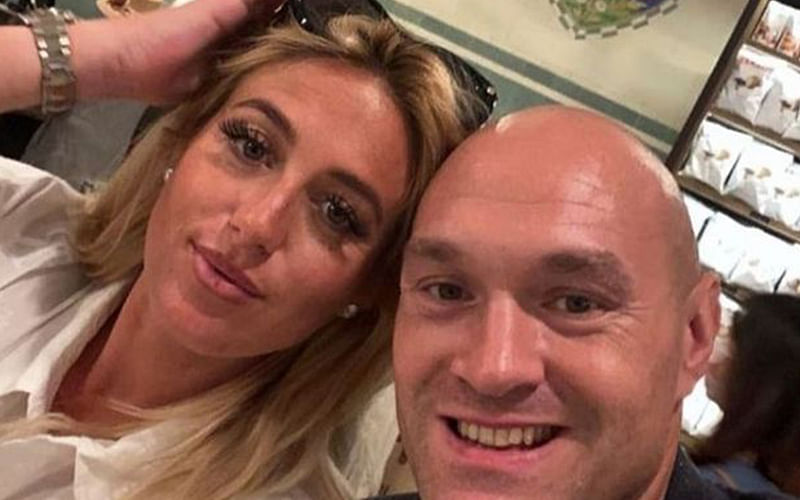 Tyson Fury's newborn daughter in 'stable' condition