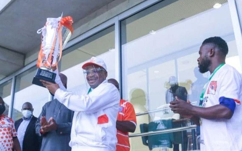 Gov Emmanuel fancies Akwa United to conquer Africa