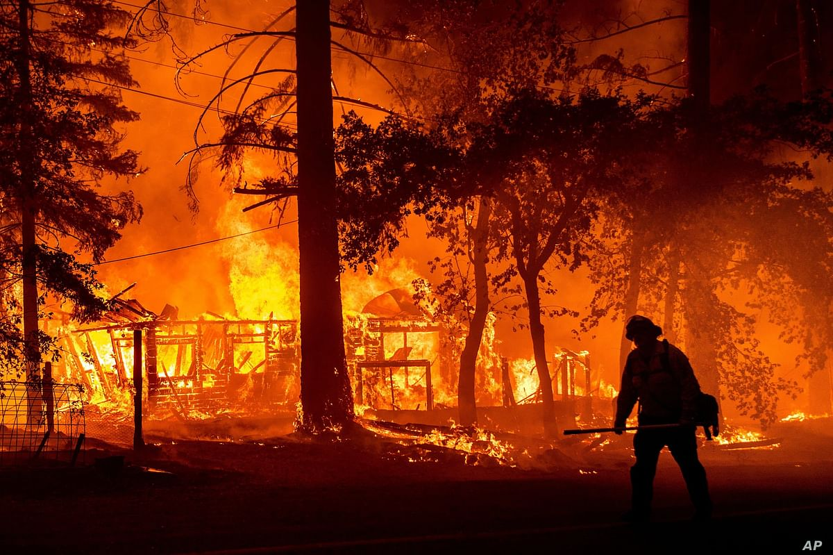 California wildfire becomes second-worst in state history