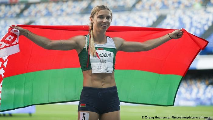 Belarus athlete enters Poland's embassy in Tokyo after refusing to return home