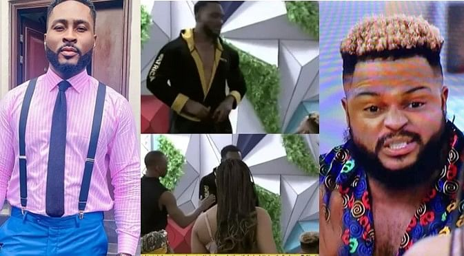 BBNaija: You can't bully me, tempers flare as Pere, Whitemoney fight dirty