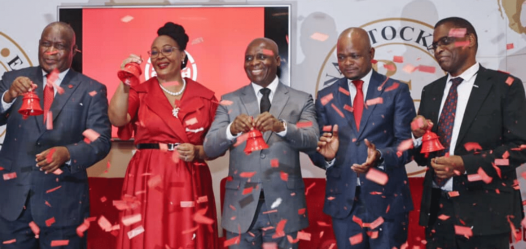 BSE Opening Bell 12.2.2020 as the Bank officially now trades as Absa Bank Botswana Limited