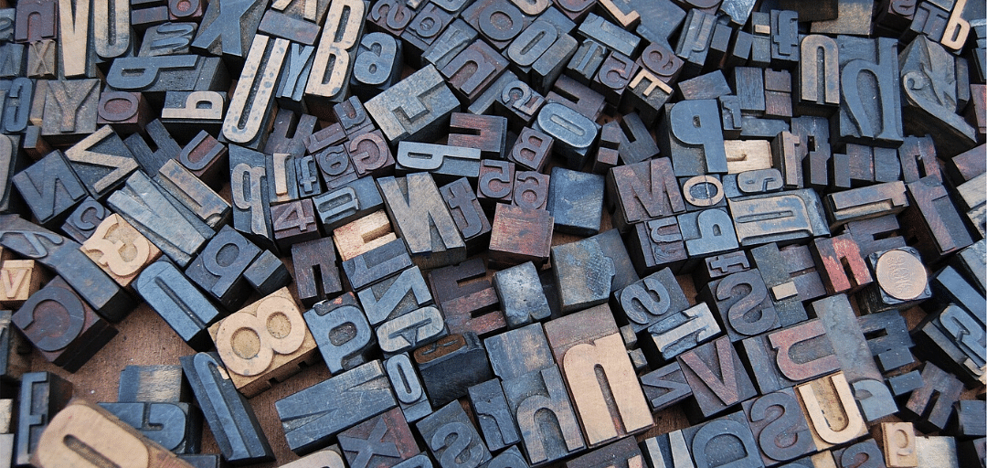 What fonts and typographies stand out for you?