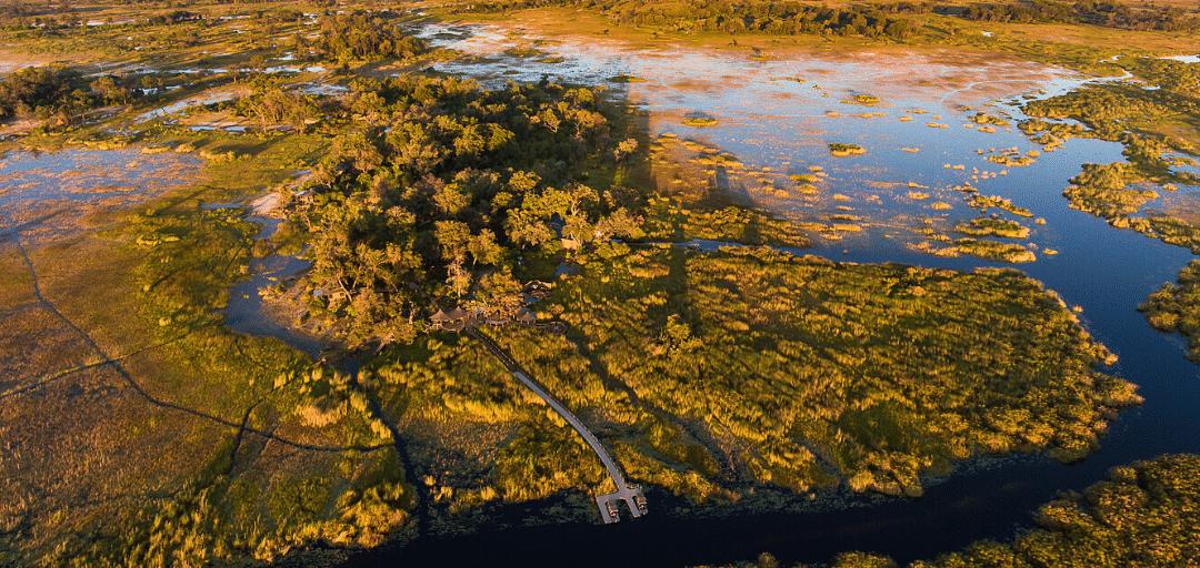 Flood Waters Return to the Okavango Delta