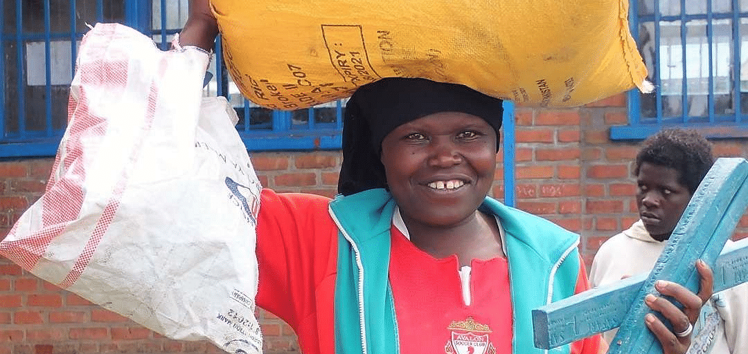 Young woman in Bisate Village