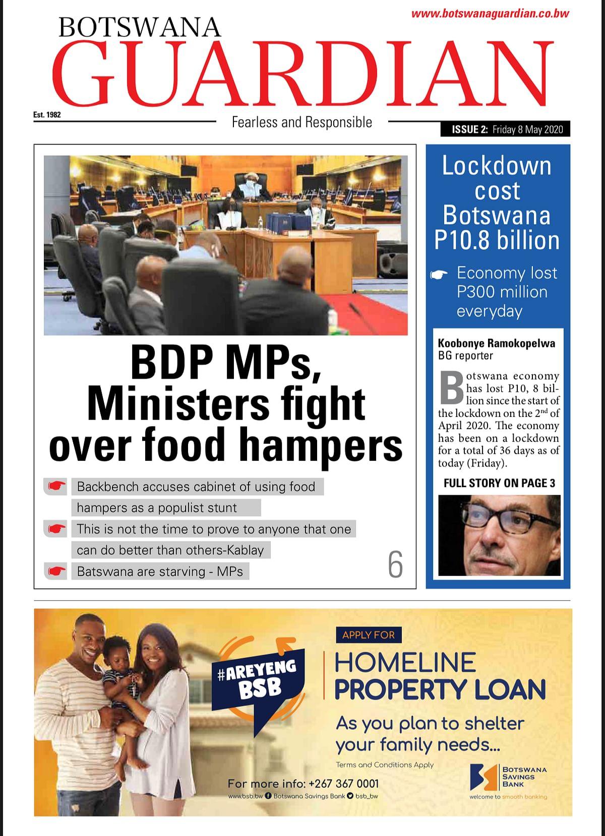 Botswana Guardian 8.5.2020