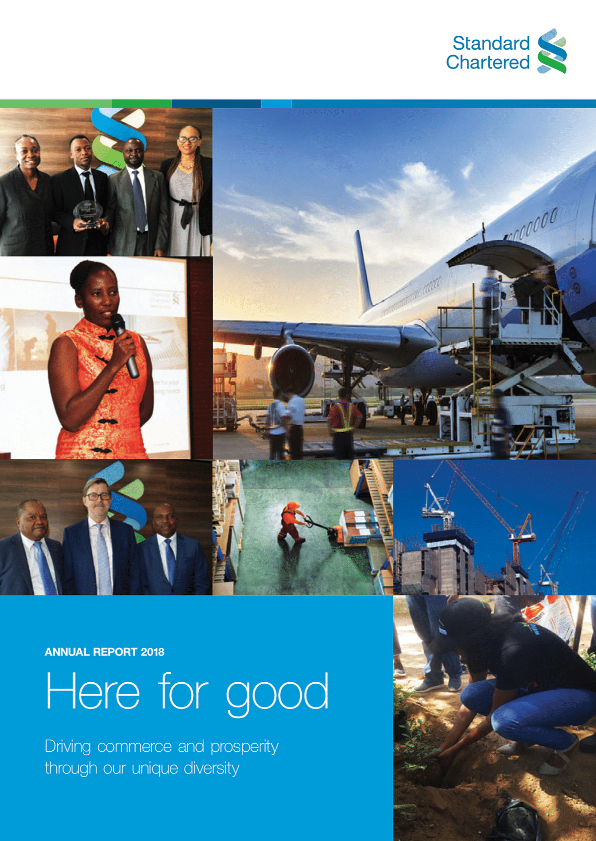Standard Chartered Bank Botswana Annual Report 2018 cover