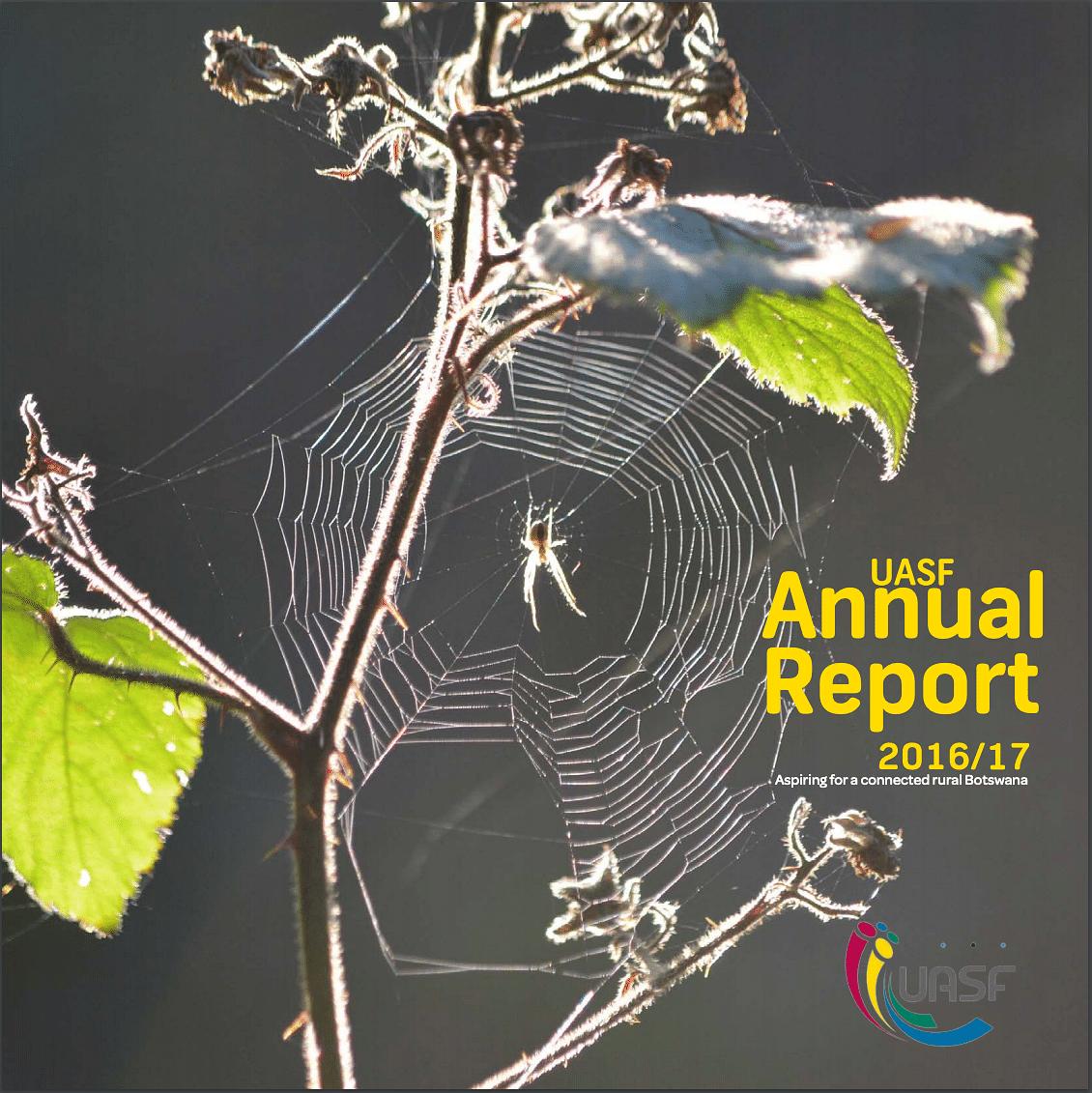 UASF Annual Report 2017 cover