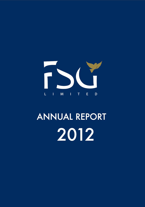 FSG Annual Report 2012 cover