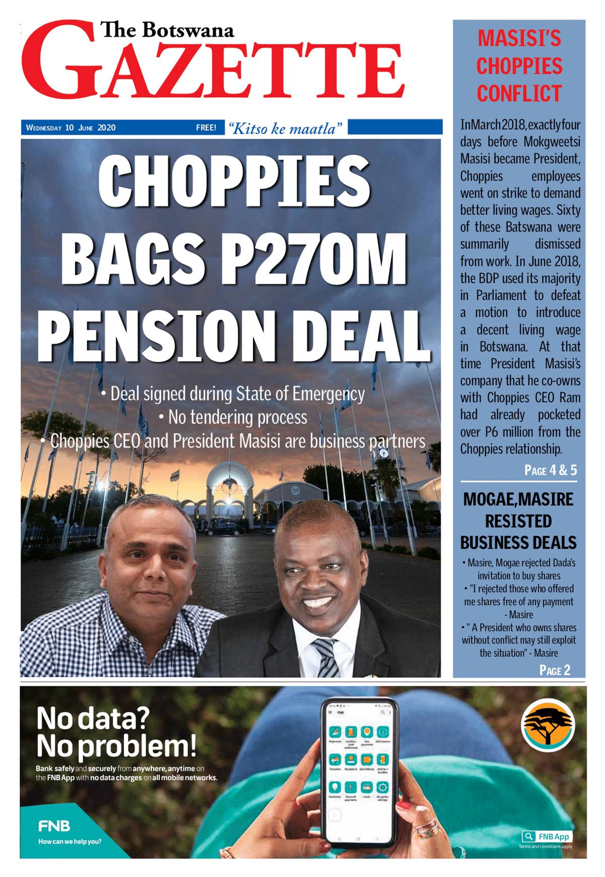The Botswana Gazette 10.6.2020