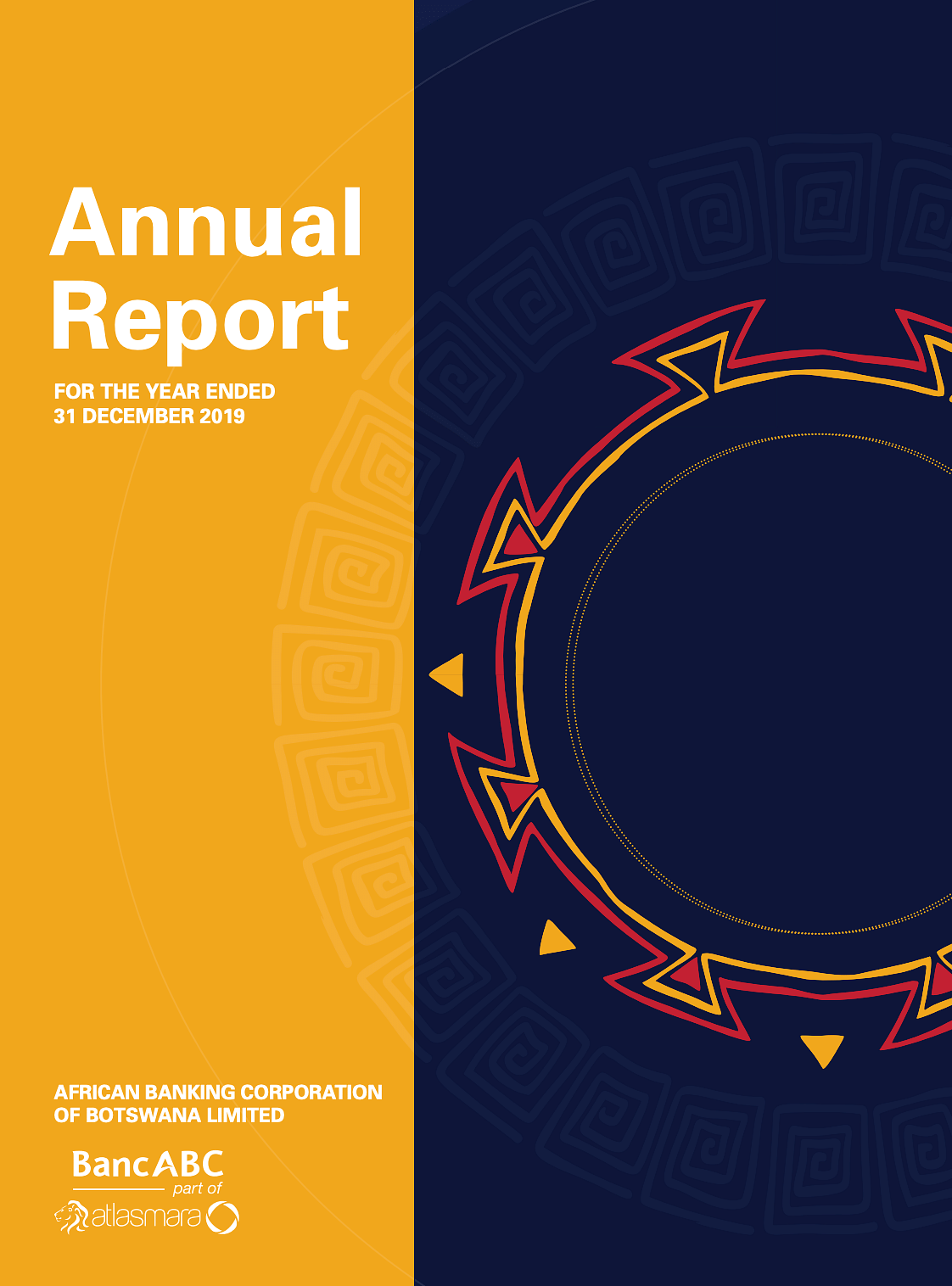 BancABC Annual Report 2019 cover