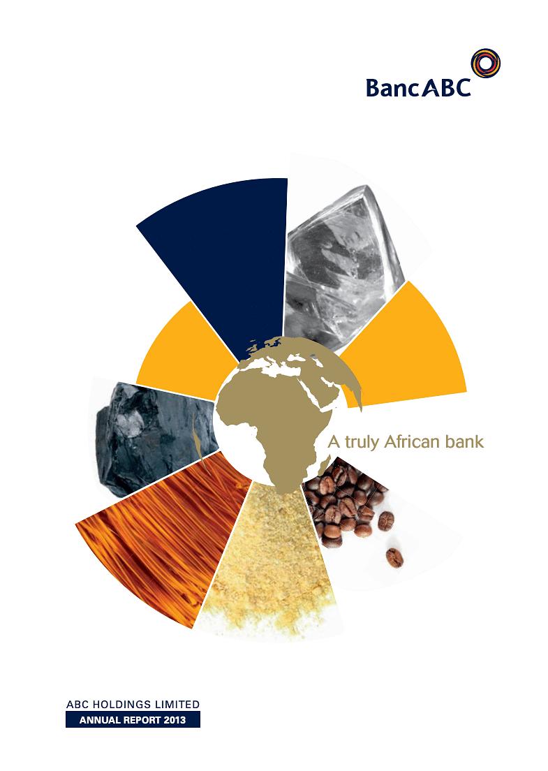 BancABC Annual Report 2013 cover