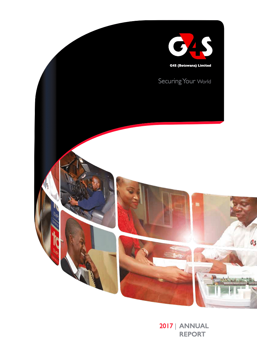 G4S Annual Report 2017 cover