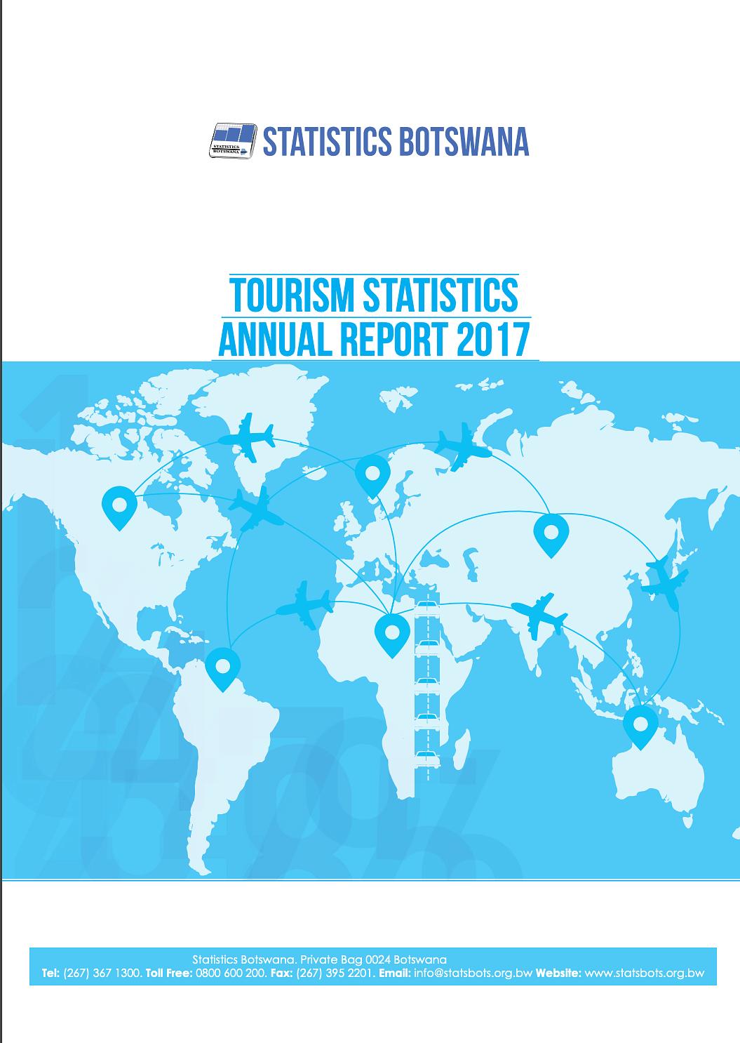 Statistics Botswana Annual Report 2017 cover