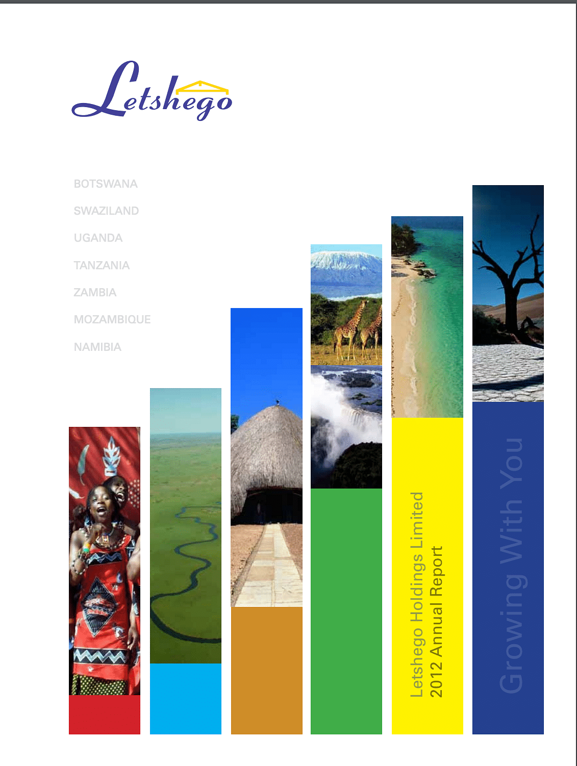 Letshego Group Annual Report 2012 cover