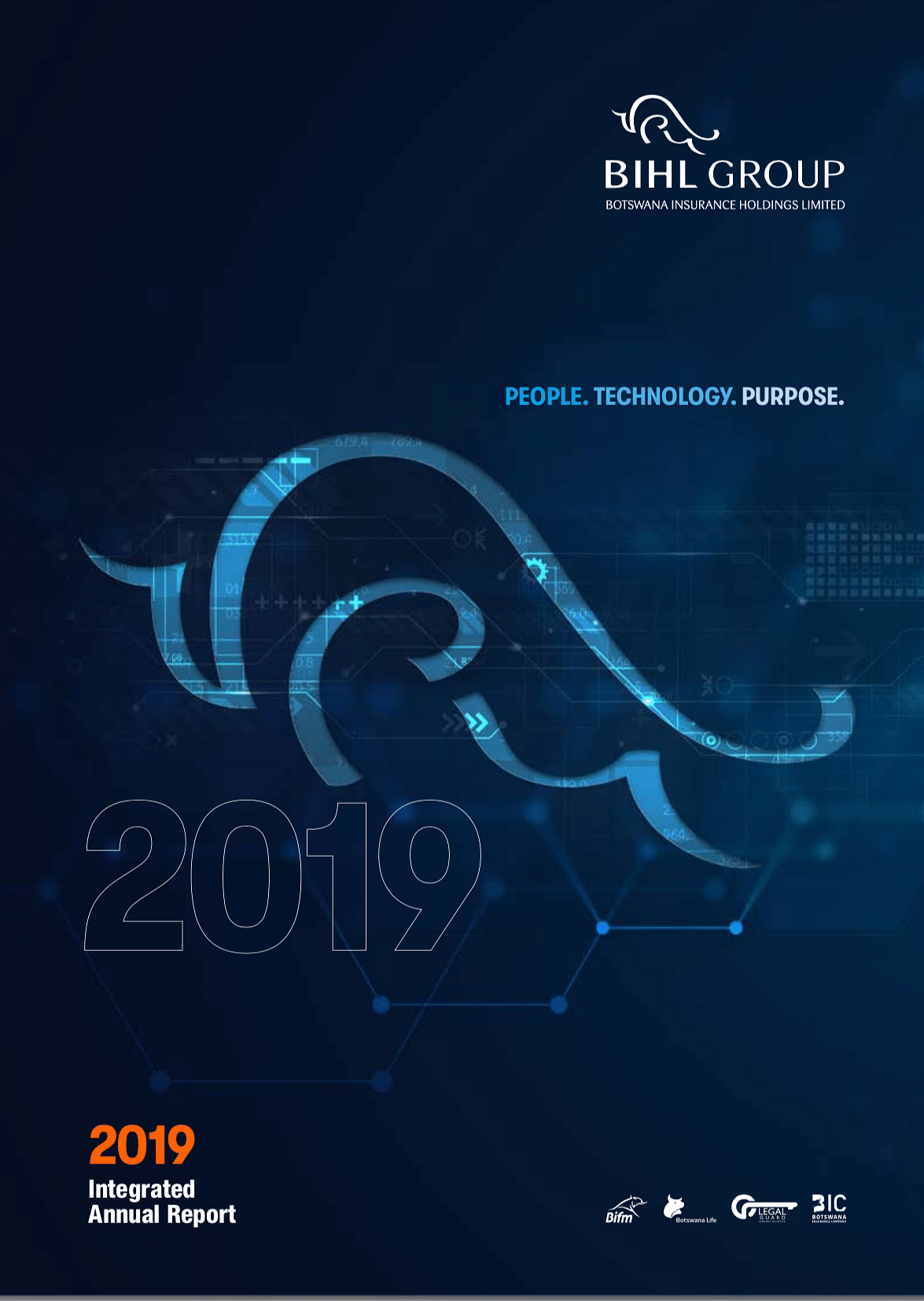 The BIHL Group Annual Report 2019 cover