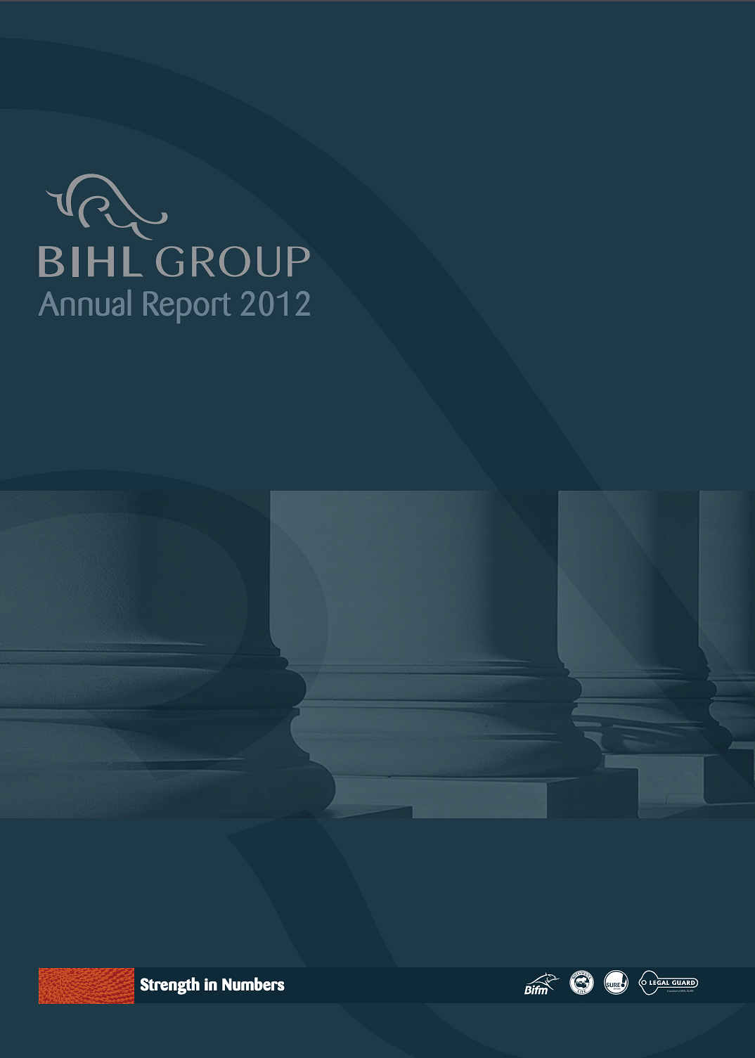 The BIHL Group Annual Report 2012 cover