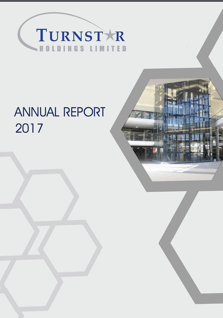 Turnstar Annual Report 2017 cover