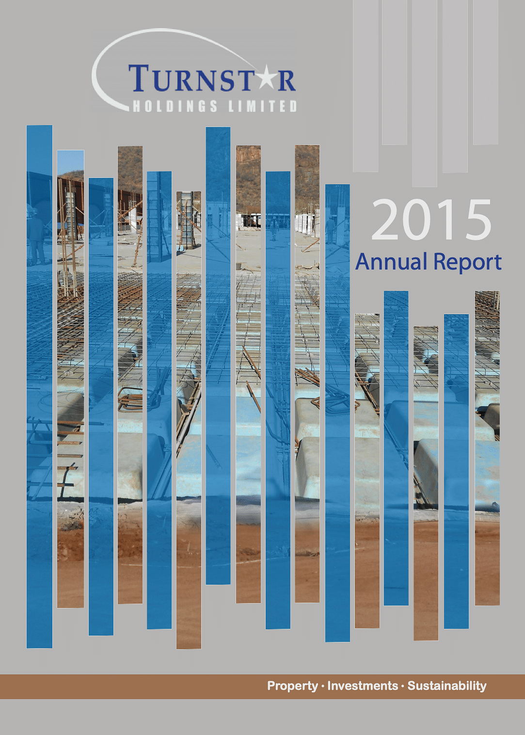 Turnstar Annual Report 2015 cover