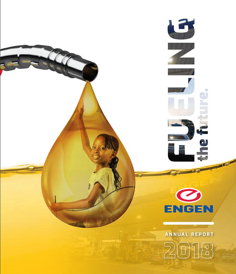 Engen Botswana Annual Report 2018 cover