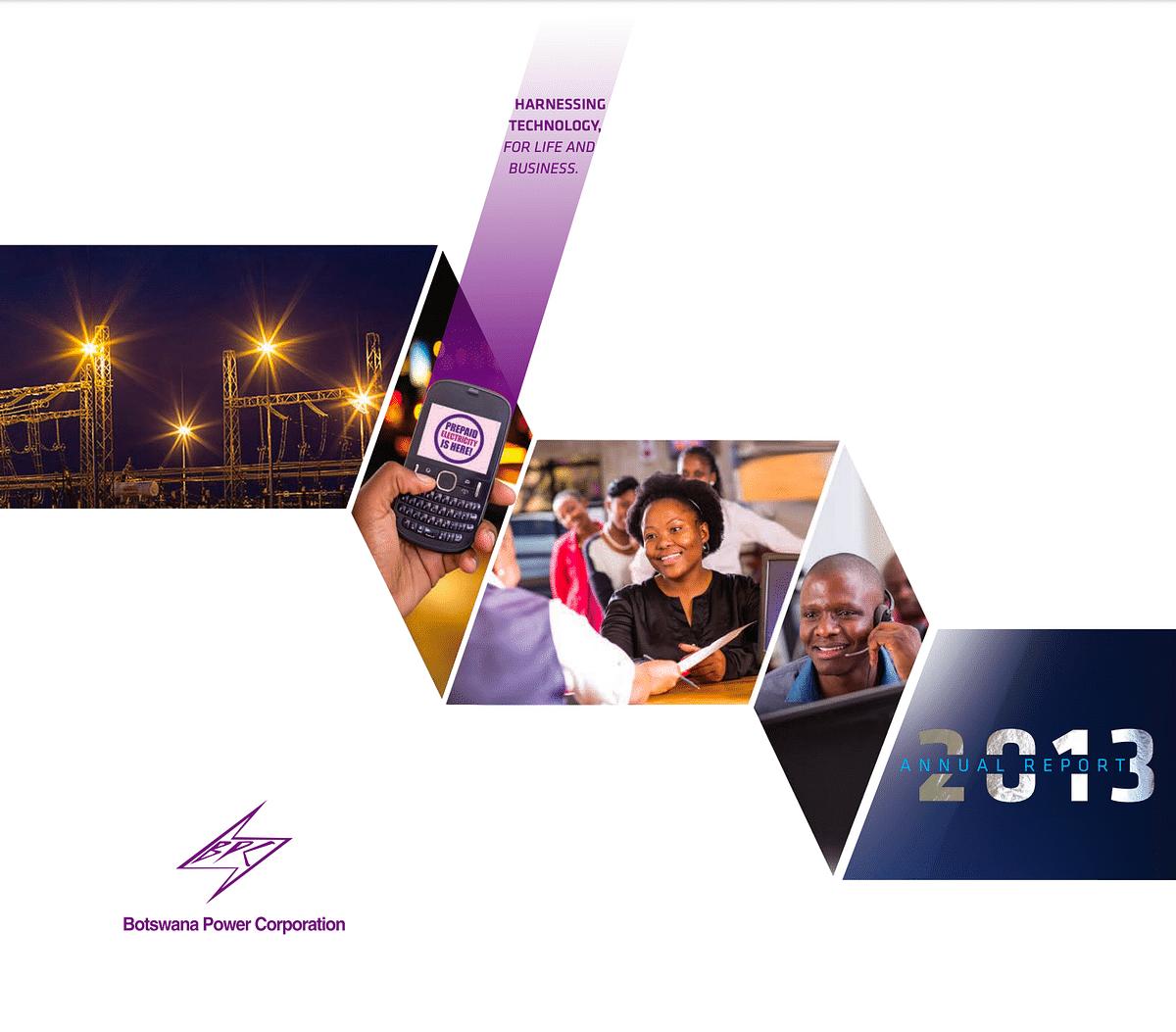 BPC Annual Report 2013 cover