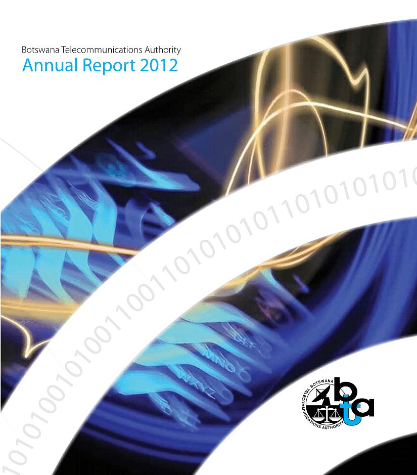 BTA Annual Report 2012 cover
