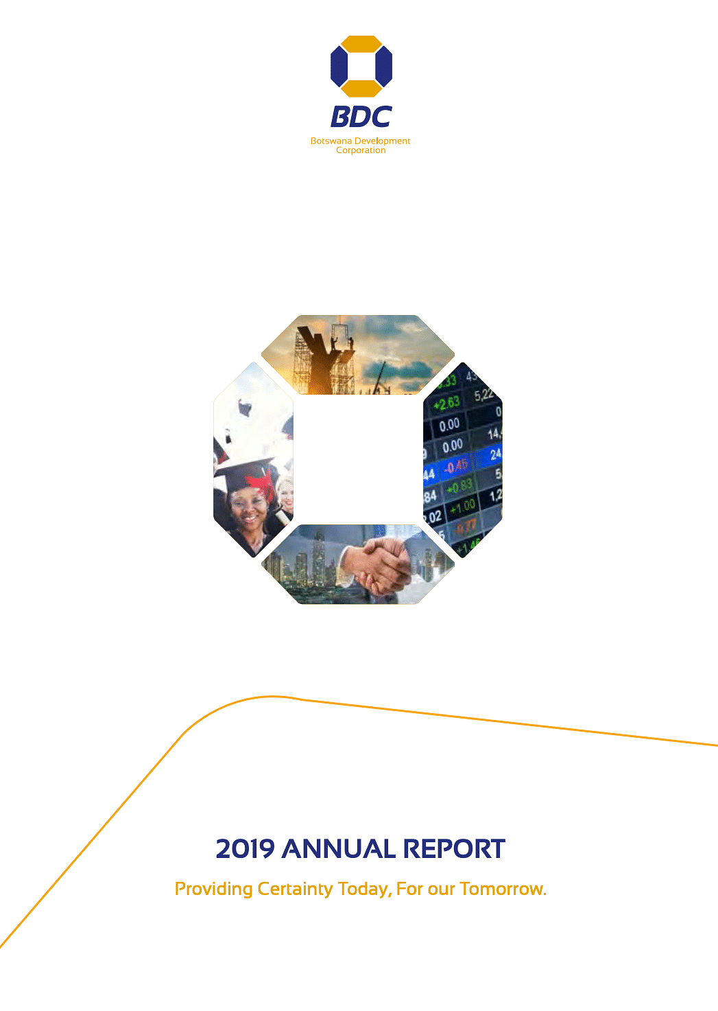 BDC  Annual Report 2019 cover