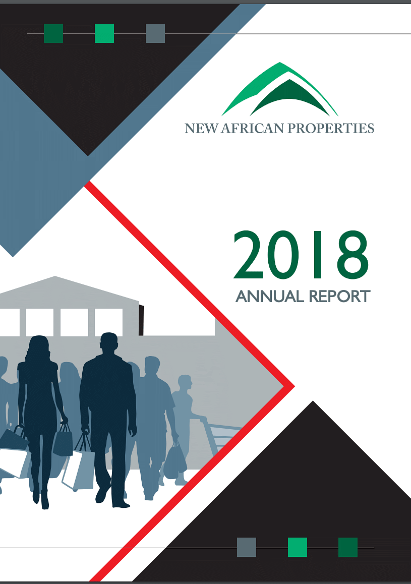 New African Properties Annual Report 2018 cover