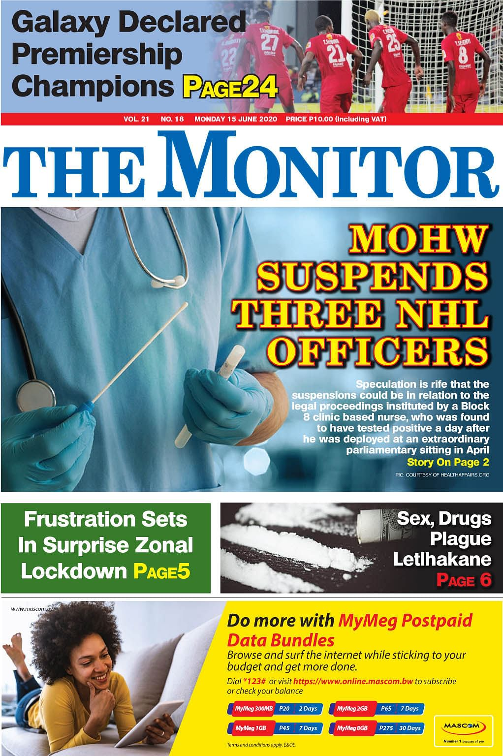 The Monitor 15.6.2020