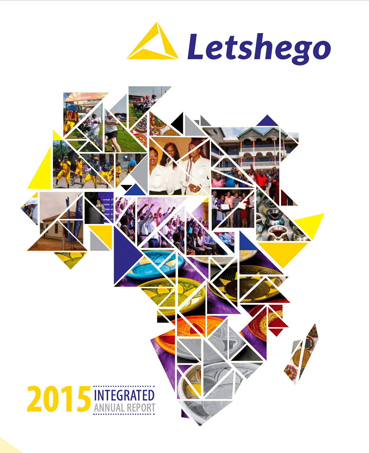 Letshego Group Annual Report 2015 cover
