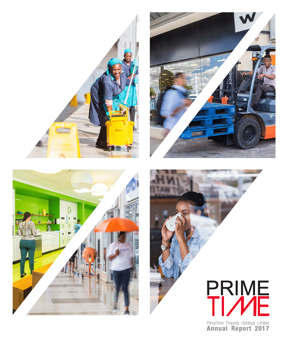 PrimeTime Property Holdings Annual Report 2017 cover