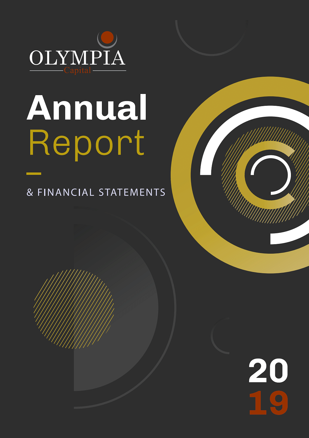 Olympia Capital Annual Report 2019 cover