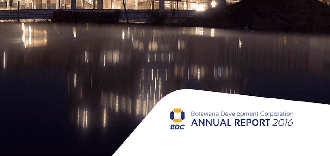 BDC Annual Report 2016