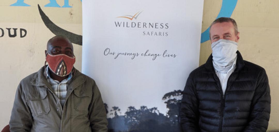 Wilderness Safaris Donates Food Hampers to Matlapana Village