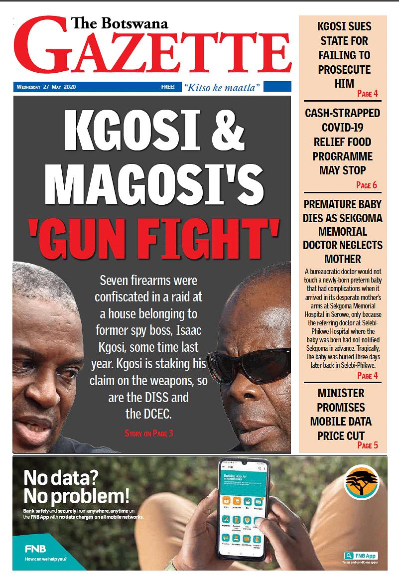 The Botswana Gazette 27 May 2020