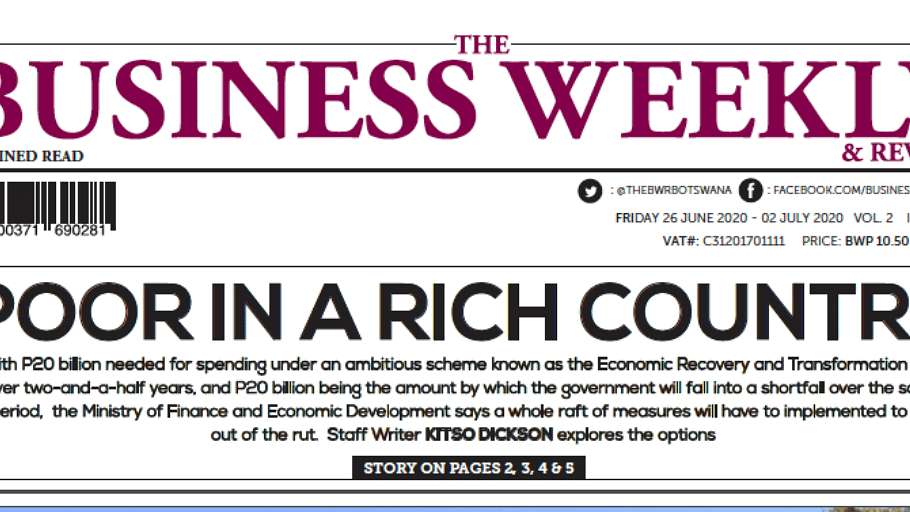 The Business Weekly & Review 26 June 2020